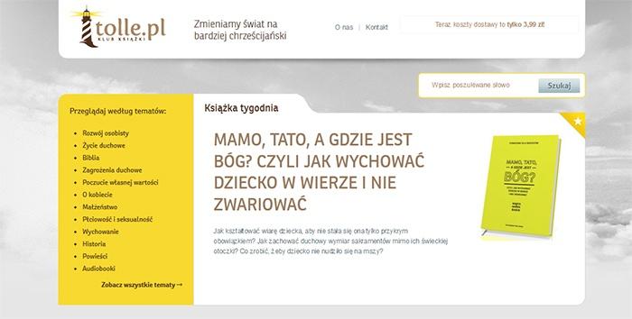 Księgarnia internetowa tolle.pl